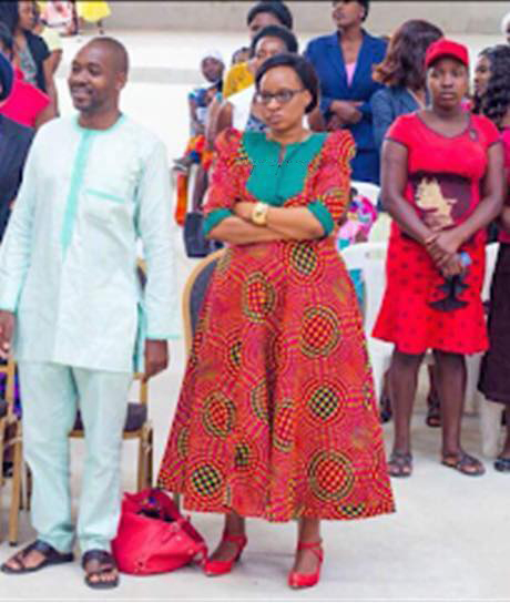 Nelson and Wife Sithokozile Chamisa