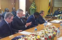 Karo Resources officials who attended the signing ceremony