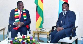 Le président zimbabwéen, Emmerson Mnangagwa, a effectué sa première visite officielle à Kinshasa où
