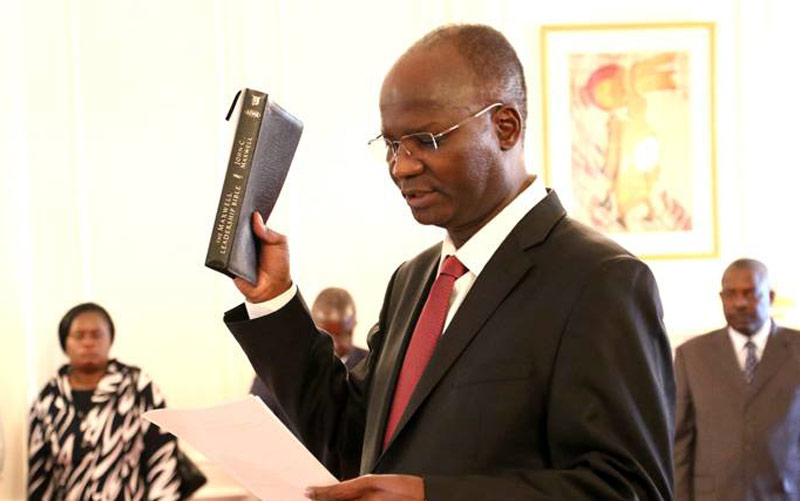 Former Higher Education Minister Jonathan Moyo