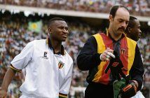 BRUCE Grobbelaar and Peter Ndlovu