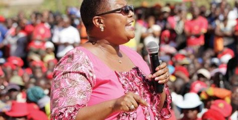 Khupe unveils new-look MDC-T leadership at Extraordinary Congress