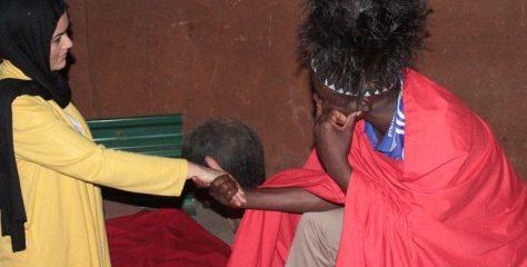 Indian Visitor Surprise Villagers at Nyanga Sangoma