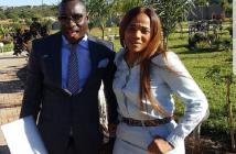 "Genius ""Ginimbi"" Kadungure and Zodwa Mkandla"