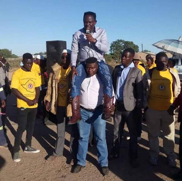 """FORMER Kwekwe Central Member of Parliament, Masango """"Blackman"""" Matambanadzo"""