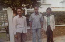 Charles Tazvishaya aka Lovemore Mawisa (left) Josiah Magama Tongogara (centre) John George Mayowe aka Robert Mandebvu (right).