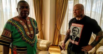 File:Jeff Monson and Ambassador of Zimbabwe to Russia Mike Nicholas Sango