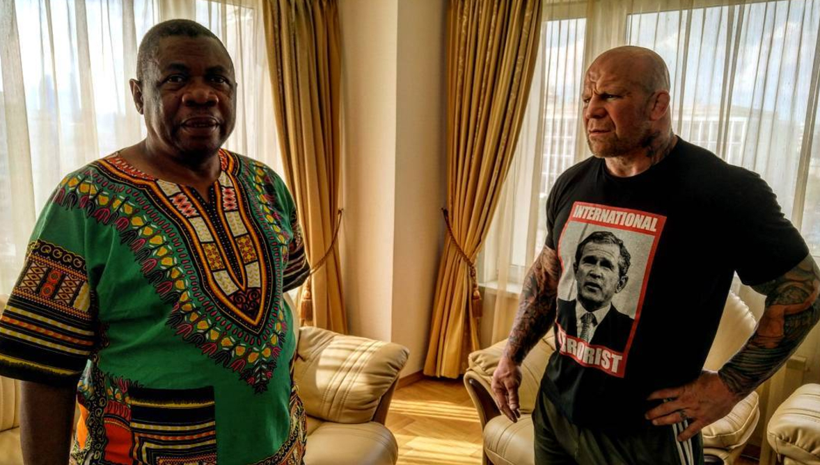 File:Jeff Monson and Ambassador of Zimbabwe to Russia Mike Nicholas Sango