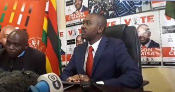 Video: Nelson Chamisa Press Conference On July 30 Elections