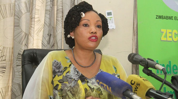 Zimbabwe Electoral Commission (Zec) chairperson Justice Priscilla Chigumba