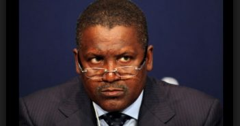 Aliko Dangote GCON (born 10 April 1957) is a Nigerian billionaire,who owns the Dangote Group, which has interests in commodities.