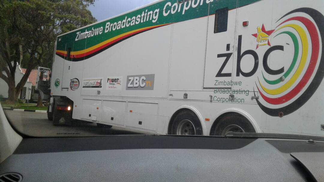 ZBC Outside Broadcast Satellite Van