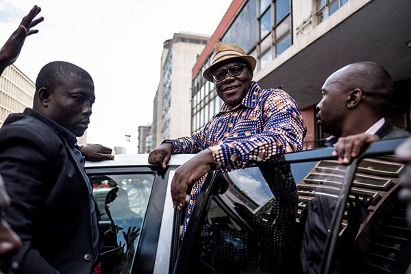Harare lawyer Tendai Biti