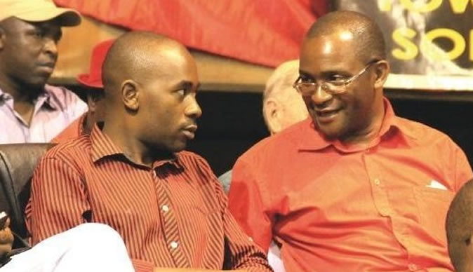 Chamisa's wolves at Mwonzora's door