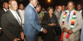 President Mnangagwa is seen off at Robert Gabriel international airport by his two Vice Presidents Dr Constantino Chiwenga and Kembo Mohadi as He departs for New York to attend the UN summit. Also present was Chief Secretary to the President and cabinet Dr Misheck Sibanda and Minister of Defence & War Veterans Oppah Muchinguri Kashiri - Picture by Kudakwashe Hunda