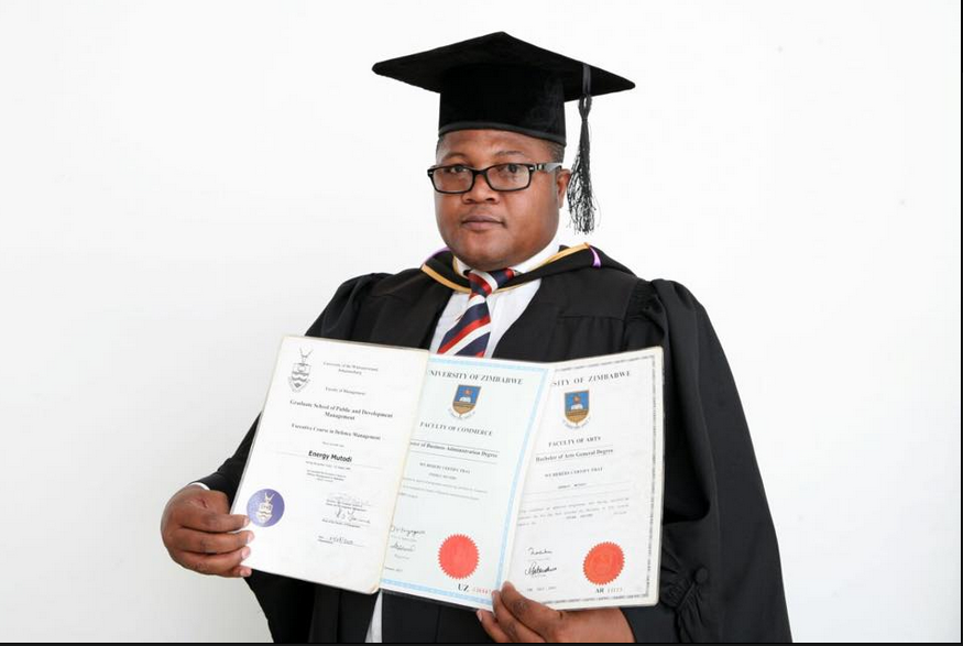anu-PF's Energy Mutodi graduates with MBA
