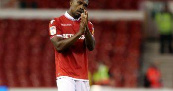 Tendayi Darikwa in action for Nottingham Forest