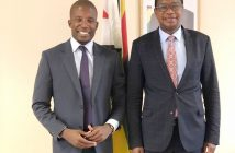 Shortlived ... Mthuli Ncube and William Mutimanje after Friday meeting