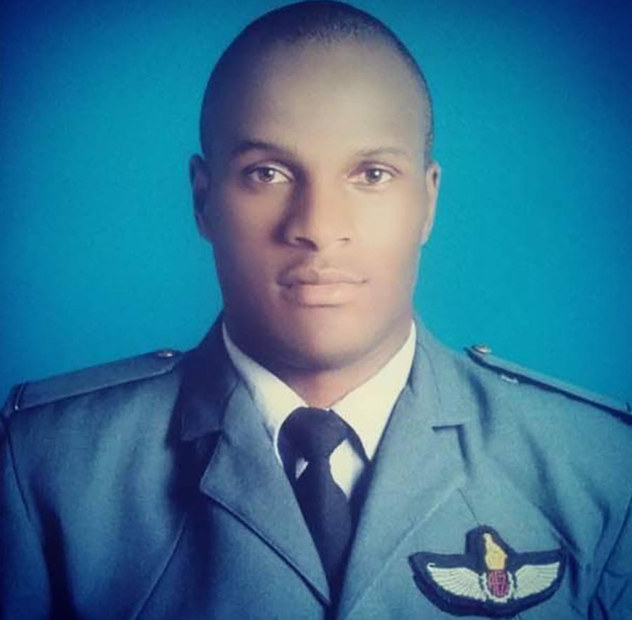 Passion killing ... Airforce man Tashinga Musonza accused of beating his girlfriend to death