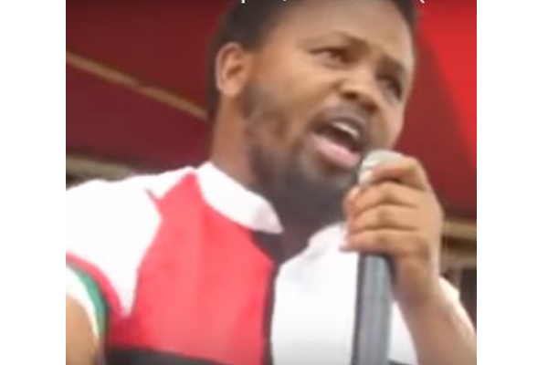 leader of BLF, Andile Mngxitama