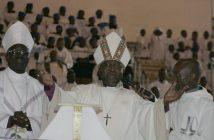 Stepping down ... Bishop Chad Gandiya at his ordination in May 2009