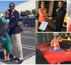 Eubert Angel Buys Lamborghini Aventador For Wife As Valentine's Present