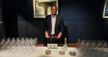 "Joseph Dhafana launched his Mosi ""WaMambo"" Gin at an exclusive event"