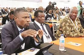 zanu PF's Chegutu West legislator Dexter Nduna (left)