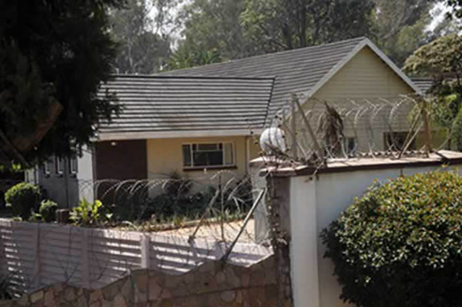 Targeted ... Tsvangirai's Strathaven home could be sold off over debt owed to former political consultant