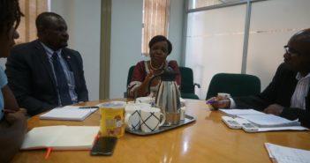 UNFPA representative Dr Esther Muia