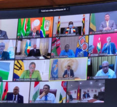 Coronavirus or computer virus: Mnangagwa wears a mask for ZOOM meeting