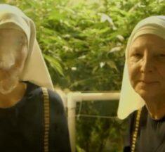 Nuns smoking marijuana cause internet furore