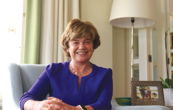 British ambassador to Zimbabwe Catriona Laing