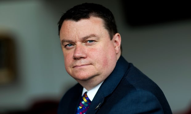 Steve White, who has been chair of the Police Federation for three years. Photograph: Teri Pengilley