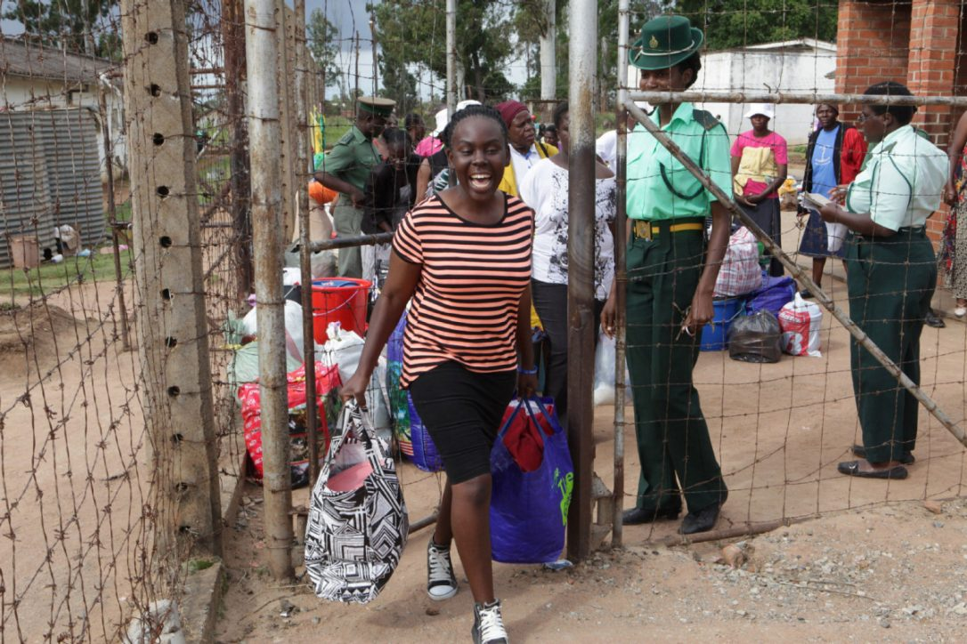 It was all jubilation on Monday at Chikurubi Female Prison, the country's main female prison in Harare, as inmates were released