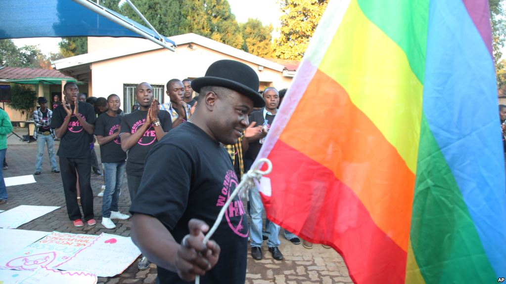 Samba Chesterfield, Director of Gays and Lesbians Association of Zimbabwe