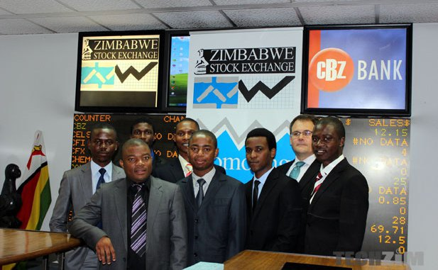 he Zimbabwe Stock Exchange