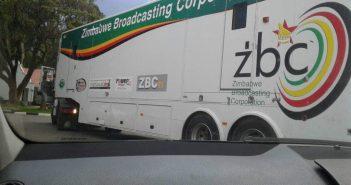 ZBC Outside Broadcast Satellite Van