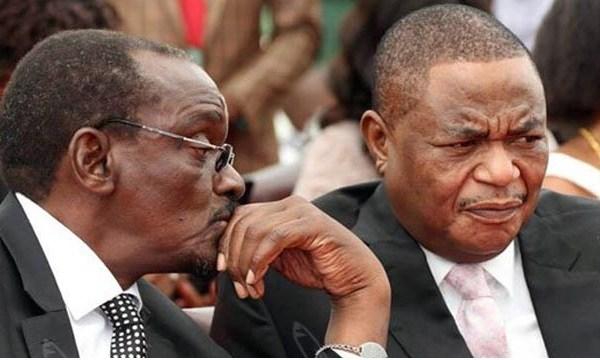 Constantino Chiwenga and Kembo Mohadi