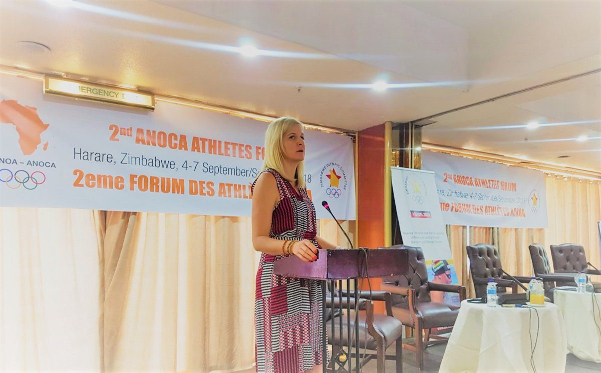 Kirsty Coventry appointed Sports Minister