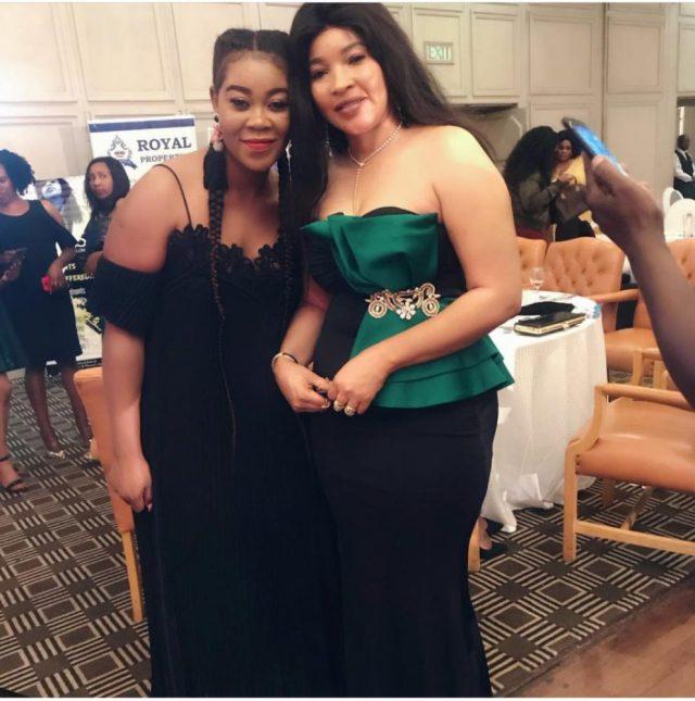 The late Morgan Tsvangirai's wife, Elizabeth graced the Zimbabwe National Women's Awards with her presence.