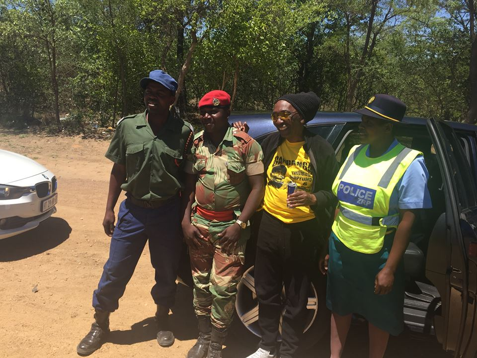 Members of the security forces stopped Thomas Mapfumo at a roadblock 20km from Masvingo