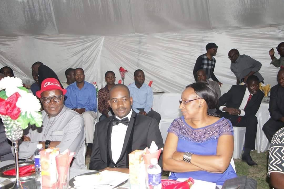 Nelson Chamisa and his wife Sithokozile Sidhile