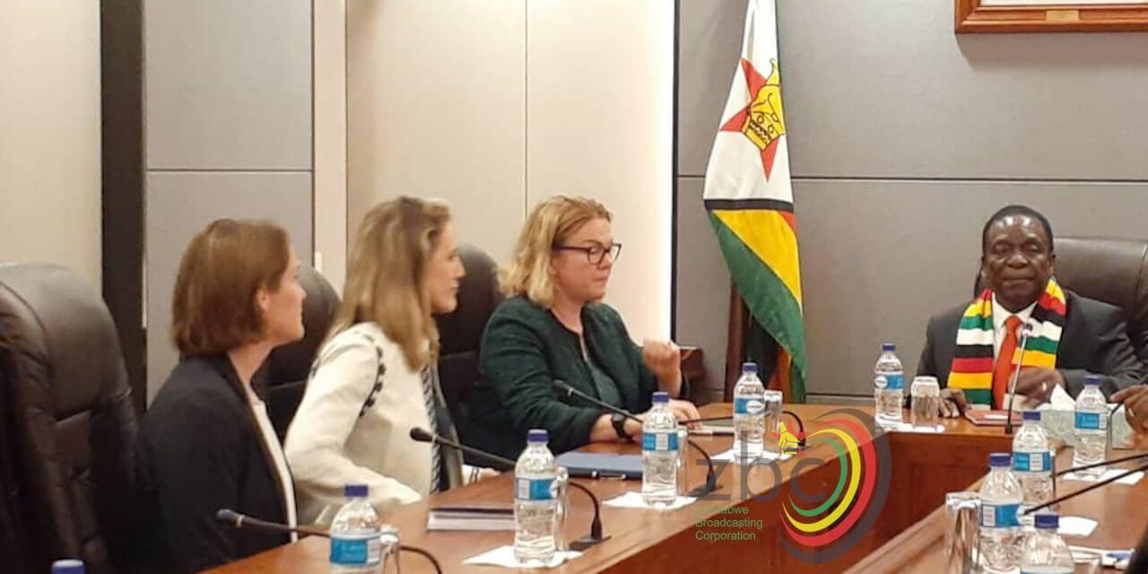 UK Ambassador to Zimbabwe, Melanie Robinson