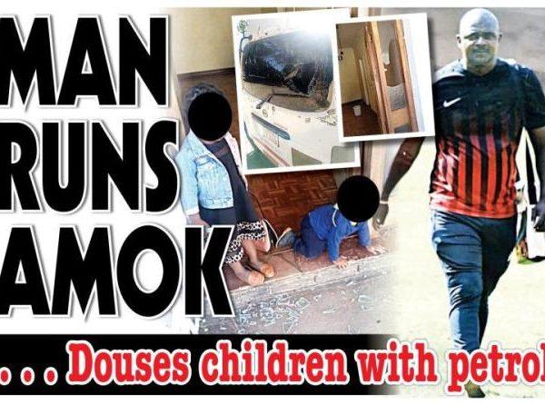 Prophet Magaya's bodyguard goes beserk, douses children with petrol