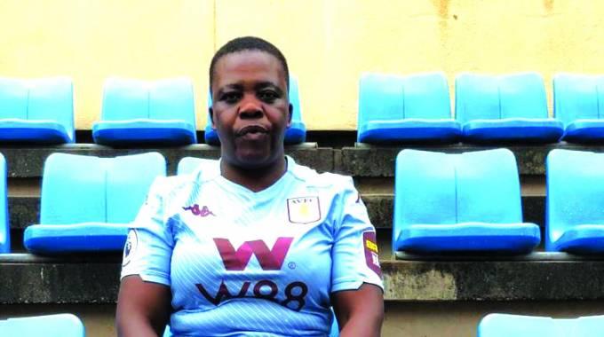 Nakamba's mother, Charity Ngwenya