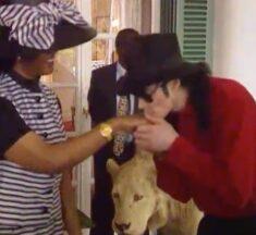 Michael Jackson  kisses Grace Mugabe at State House