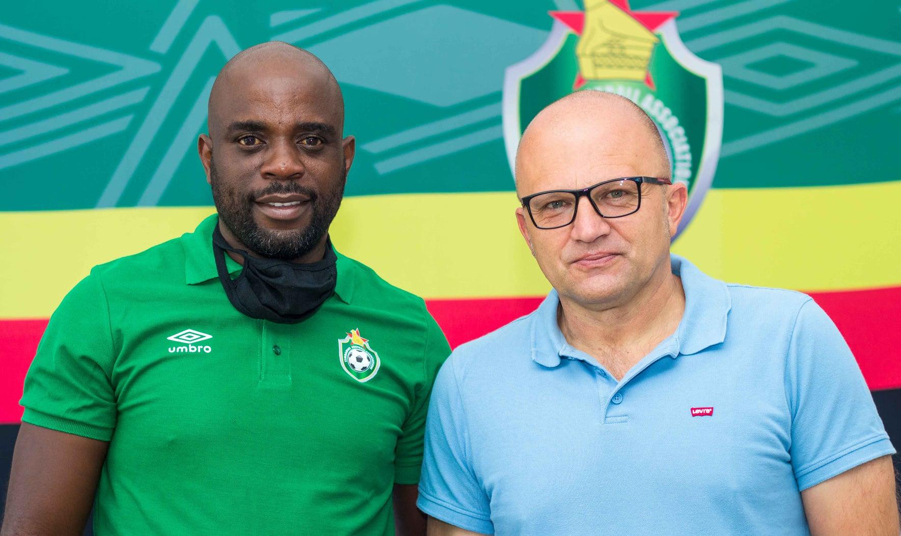 Warriors-coach-Zdravko-Logarusic-and-his-assistant-Tonderai-Ndiraya