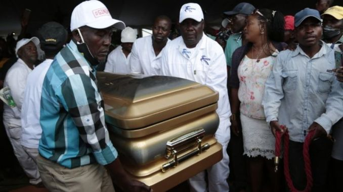 Ginimbi-burial