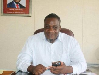 MDC Alliance Secretary General Chalton Hwende